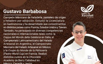 Demostración de heladería con chocolate | Salón du Xocolatl